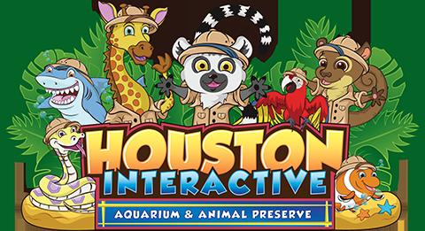 Houston Aquarium & Animal Adventure Logo