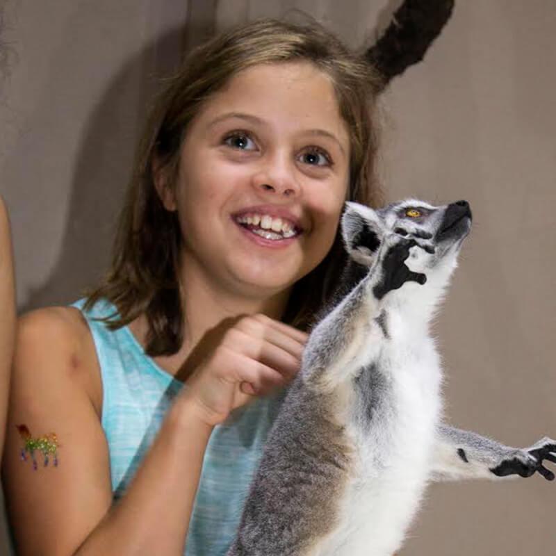 guest with lemur